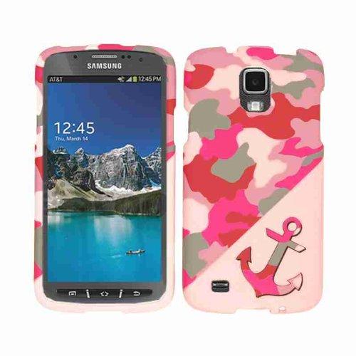 Celdas Armor Active–Funda de fijación para Samsung Galaxy S4–Embalaje de venta–rosa/rojo con ancla de...