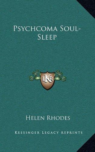 Psychcoma Soul-Sleep pdf epub