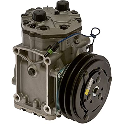 COMP YORK ET210L W/CLUTCH 1WIRE 2 GRV 6in 12V: Automotive