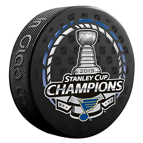 Inglasco 2019 NHL Stanley Cup Final Champions Puck St Louis Blues ()