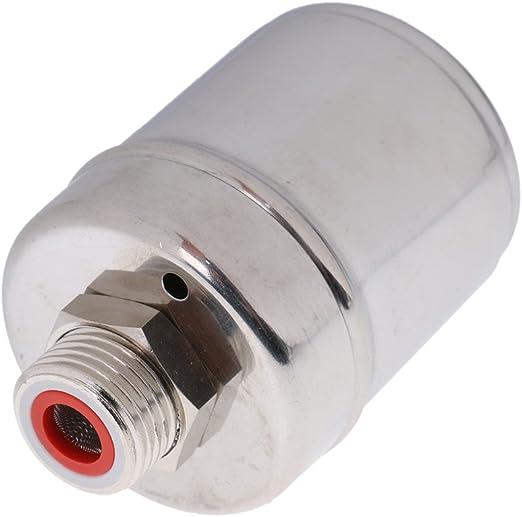 LOVIVER Autom/ático V/álvula de Control de Nivel de Agua Torre Tanque V/álvula de Bola Flotante