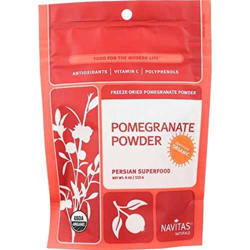 Navitas Naturals Pomegranate Powder - Organic - Freeze-Dried - 4 oz - case of 12 by Navitas Naturals