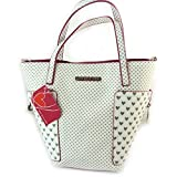 'french touch' bag 'Agatha Ruiz De La Prada'fuchsia white - little hearts.