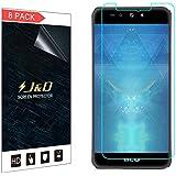 [8-Pack] Advance A5 Plus Screen Protector, J&D Premium HD Clear Film Shield Screen Protector for BLU Advance A5 Plus