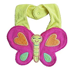 Butterfly Baby Bids Toddler Saliva Towel