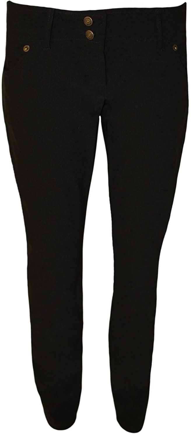 PaperMoon Women's Stretch Skinny Leg Pants