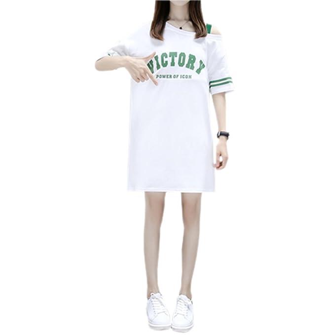 YIHIGH Embarazo Vestido Lactancia Mujer - Moda Premamá Blusa Maternidad de Manga Corta Camiseta Vestidos,