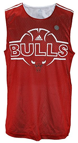 Chicago Bulls NBA Men's Hoops Tank - Red (X-Large)