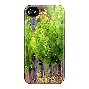 AElpYhK6035VSltp Saraumes Vineyard Durable Iphone 4/4s Tpu Flexible Soft Case