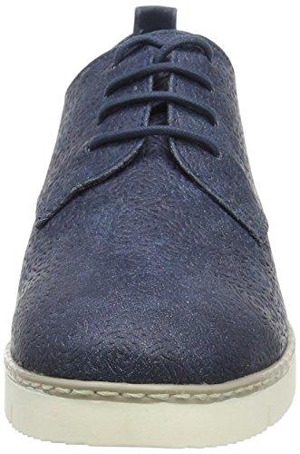 23618 Mujer Derby Antic Blau Marco Cordones Zapatos Azul Tozzi De 892 navy 71XY5Hq