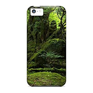 New Arrival Cover Case With Nice Design For Iphone 5c- Mystic Forest