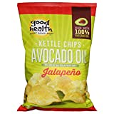 Good Health Chips Pot Avocado Oil, Jalapeno, 5 oz, pack of 12