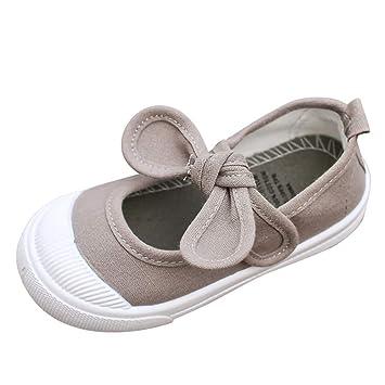 Bebé Niñas Princesa Zapatos Mitiy Suela Suave Bowknot ...