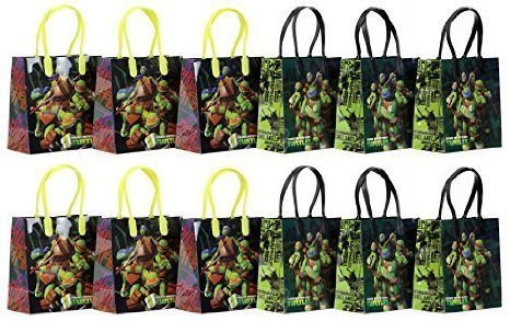 TMNT Teenage Mutant Ninja Turtles Party Favor Goodie Gift Bag - 6