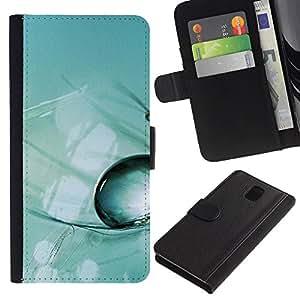 iBinBang / Flip Funda de Cuero Case Cover - Planta Naturaleza Forrest Flor 48 - Samsung Galaxy Note 3 III N9000 N9002 N9005