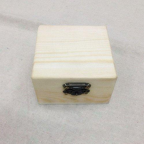 XBR Caja de Embalaje de Madera Maciza de Madera pequeña Caja ...
