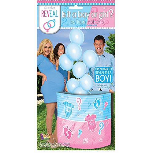 Forum Novelties Gend Reveal Balloons, Blue -