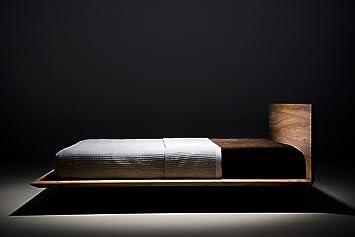 MAZZIVO Slim Hochwertiges Holz Bett schlicht & zeitlos ...