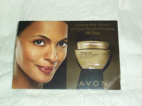 Day Cream Discontinued (Avon Anew Age Repair Day Cream SPF 25 UVA/UVB Samples (Lot of 25 Samples))