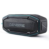 Bluetoothスピーカー、ZENBRE D6 アウトドアBluetooth4.1 スピーカ...