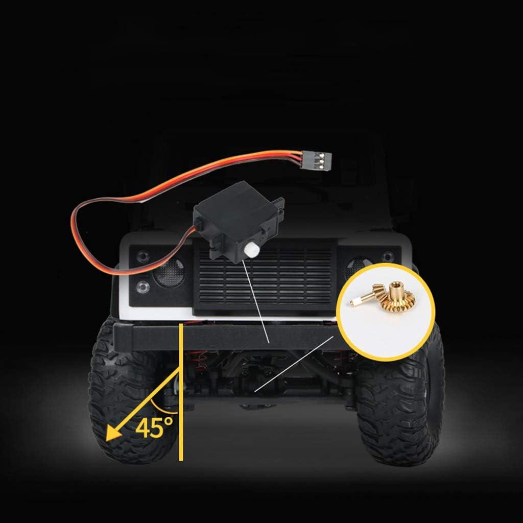 ★ MN 99 2.4G 1/12 4WD RTR Crawler RC auto giocattolo modello Outdoor Toys bianco Bianco