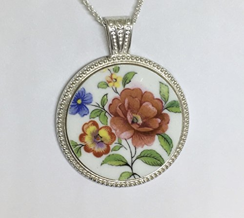 Aynsley Bone China, Broken China Necklace