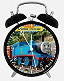 Thomas Train Alarm Desk Clock 3.75'' Home or Office Decor W68 Nice For Gift