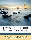 Histoire du Droit Romain, , 1278837442