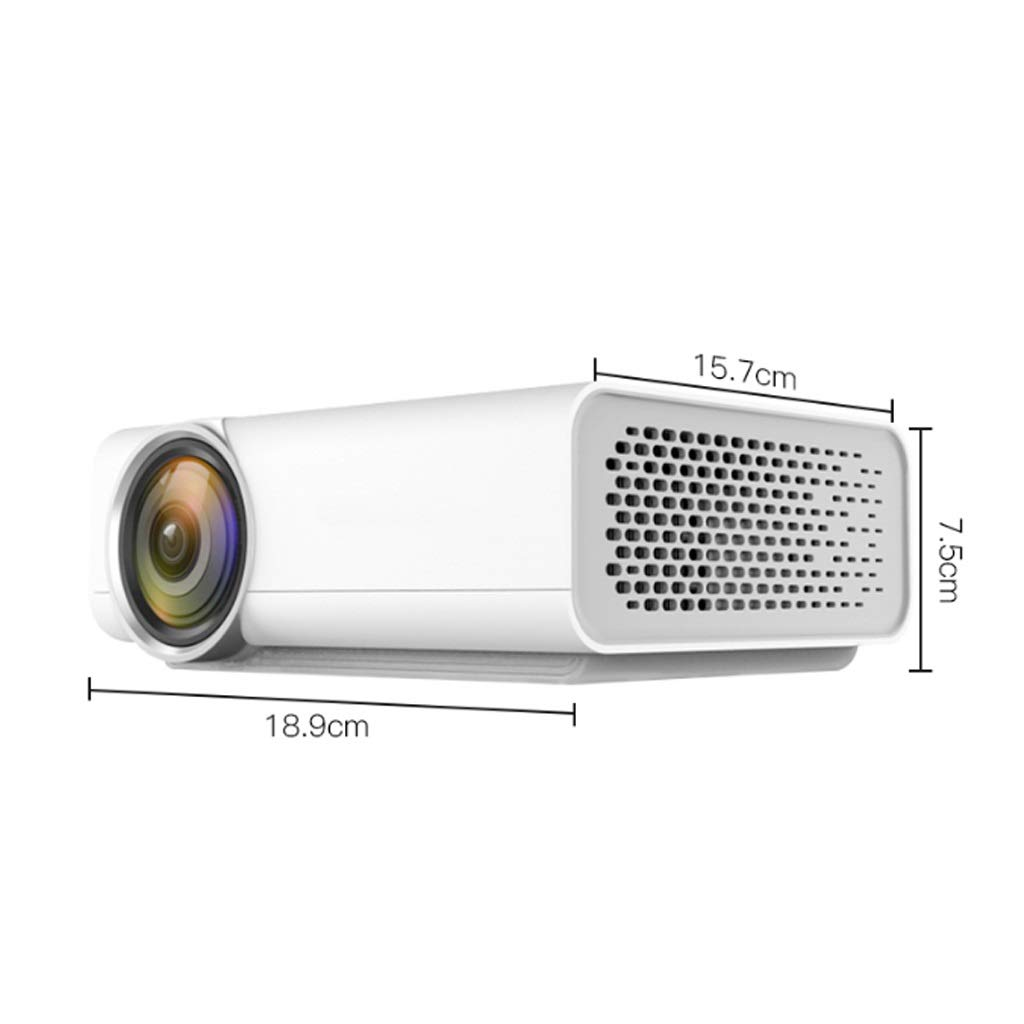 Pequeño proyector HD Teléfono móvil Mini Micro proyector Cine en ...