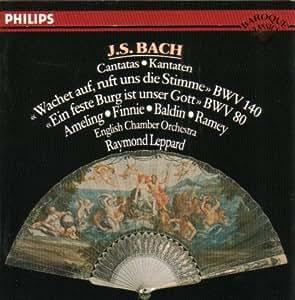 Bach-Leppard -Cantates Bwv 80 & 140: Raymond Leppard