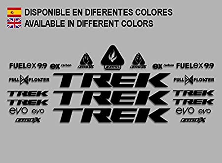 PEGATINAS STICKERS TREK FUEL EX 9.9 BIKES F144 STICKERS AUFKLEBER DECALS AUTOCOLLANTS ADESIVI MTB BTT