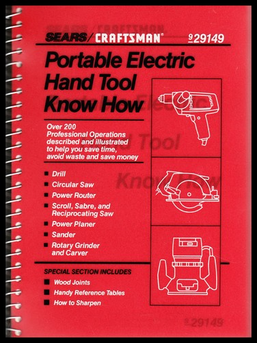 Portable Electric Hand Tool Know How