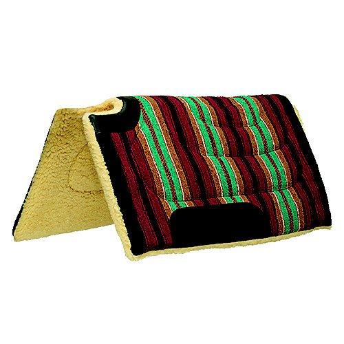 Weaver Leather Fleece Lined Acrylic Cut Back Saddle Pad (Pad Back Saddle)