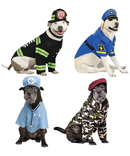 K9 Occupation Pet Costume - FIRE Dog (Pet Fire Costume Dog)