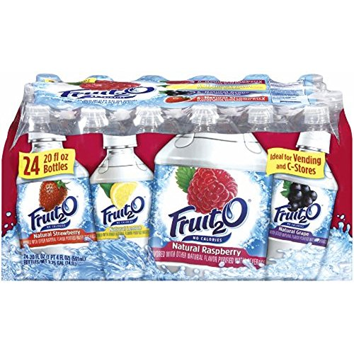Fruit2O Variety Pack, 24 pk./20 oz. (pack of 2)