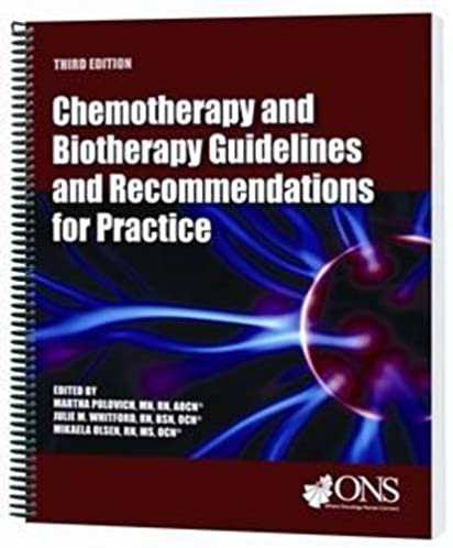 chemotherapy and biotherapy guidelines and recommendations for rh amazon com Biotherapy Self-Injection Biotherapy Tumor