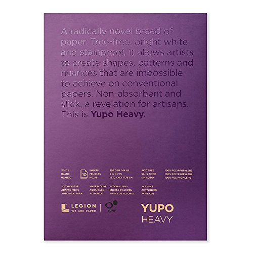 Yupo Paper L21-YUP389WH57 Painting and Drawing, Multi ()