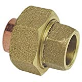 Nibco 733-LF Cast Bronze Solder Pressure Copper Union, 1-1/2''