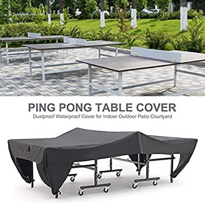 STTC Funda para Mesa de Ping-Pong, 210D Impermeable Oxford A ...
