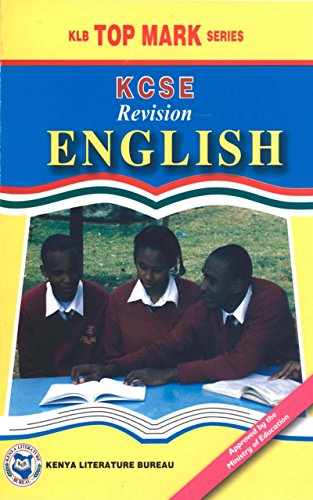 Amazon com: KCSE Revision English (KLB Top Mark Series