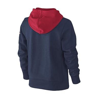 410Amazon itAbbigliamento Kids Con 481376 Blu Felpa Cappuccio Nike Tessuto In Sptcas OPXkuZi