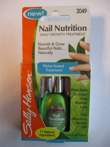Sally Hansen Nail Nutrition Growth Treatment .4 oz.