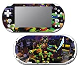 Teenage Mutant Ninja Turtles TMNT Leonardo Leo 3D TV Cartoon Movie Video Game Vinyl Decal Skin Sticker Cover for Sony Playstation Vita Slim 2000 Series System