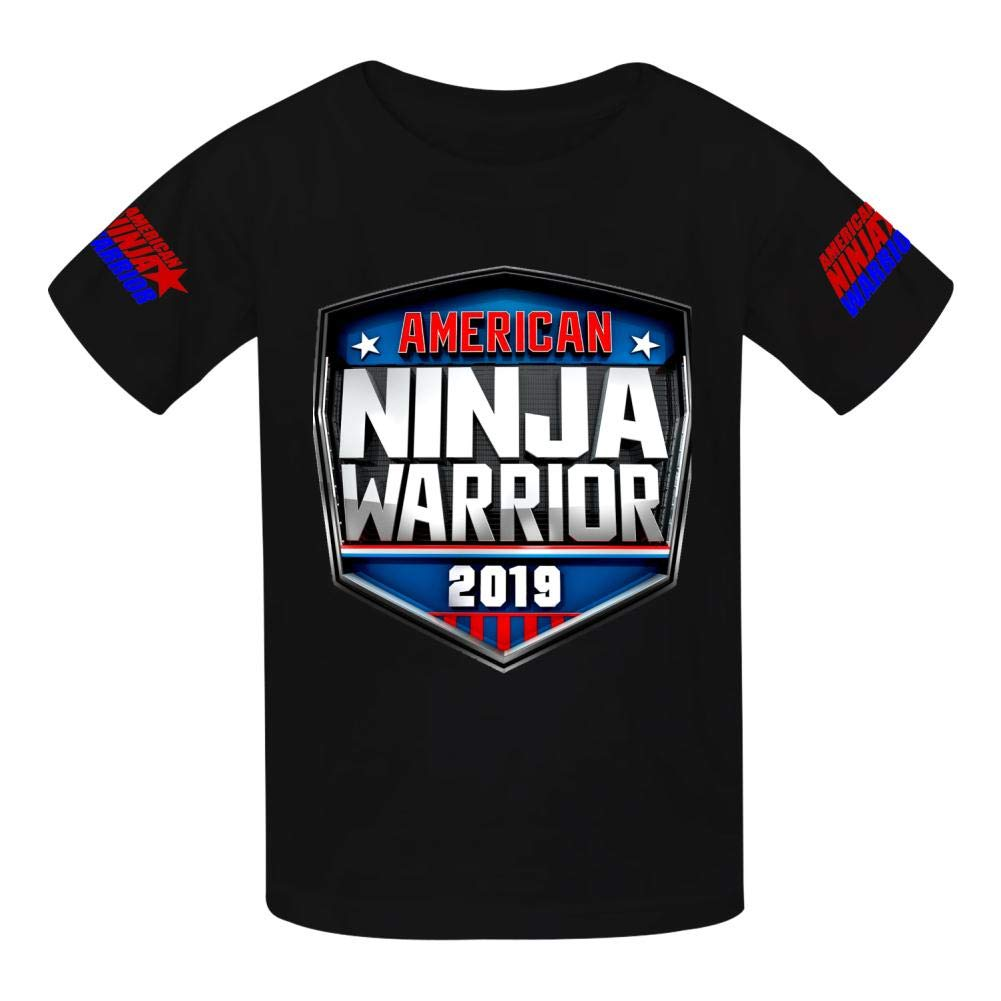 VOPSKJ14 American Ninja Warrior Youth Cotton T-Shirts Unisex Child Short Sleeve Tee Shirt