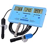 6 in 1 Digital Monitor Water testing Meter- ph ppm temp tds ec cf Tester