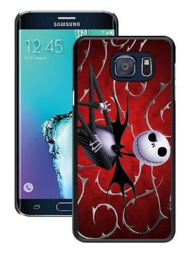Hot Sale Samsung Galaxy S6 Edge Plus Case ,Unique And Durable Designed Case With Jack Skellington black Samsung Galaxy S6 Edge+ Cover Phone Case
