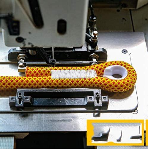 登山ロープ、16mm 屋外エスケープレスキューロープ、綿の糸でサバイバルコード屋外商業グレード編組火災パラシュートコードロープ,a,60m