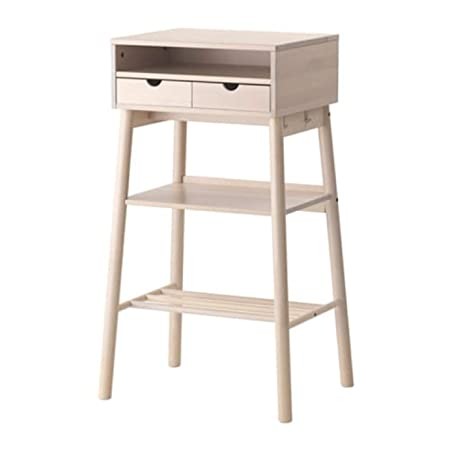 Ikea Knotten 302.994.85 - Escritorio de pie, Color Blanco: Amazon ...