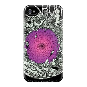 Iphone 4/4s NRv15818LnqD Unique Design Realistic Breaking Benjamin Image Shock-Absorbing Hard Phone Covers -KellyLast