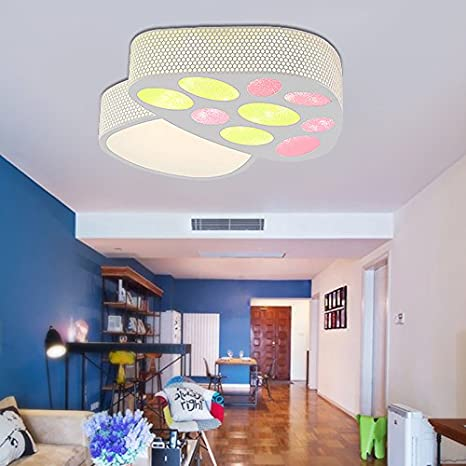 Cttsb ceiling lamp Modern simple creative fashion Boys bedroom light ...